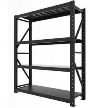 Customized 4 layer rack steel plate heavy metal storage shelf for warehouse