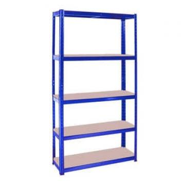 GD3178 5 Tiers adjustable plastic warehouse shelving rack