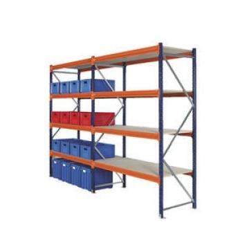 Heavy Duty Warehouse Shelving ISO9001:2008 Certification Passed Painting Storage Rack