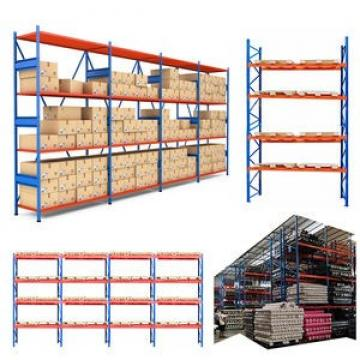 Cheap industrial warehouse steel storage durable flare pallet rack heavy gauge galvanized wire mesh decking panels