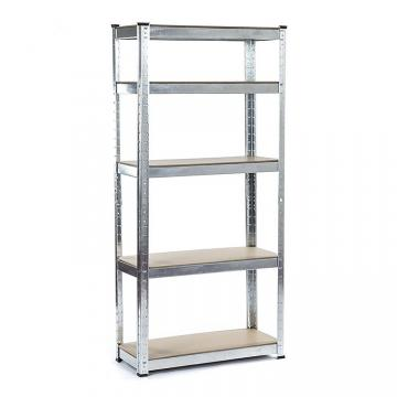 Adjustable warehouse storage rack shelving system