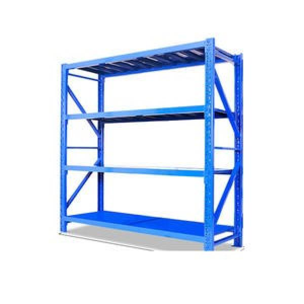 Double or single side convenient warehouse rack Cantilever Storage Shelving System Storage Rack Steel Pipe Storage Rack #3 image