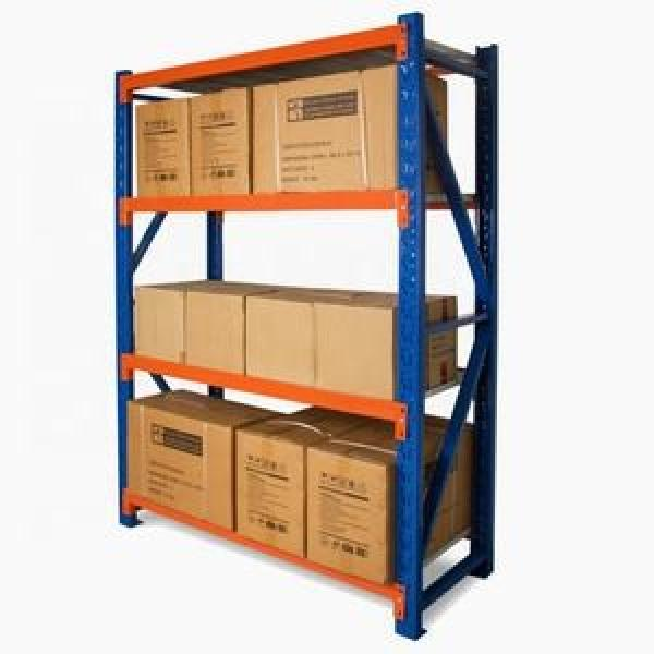 Heavy duty steel fabric roll pallet warehouse racking systems steel pallet industrial racks #3 image
