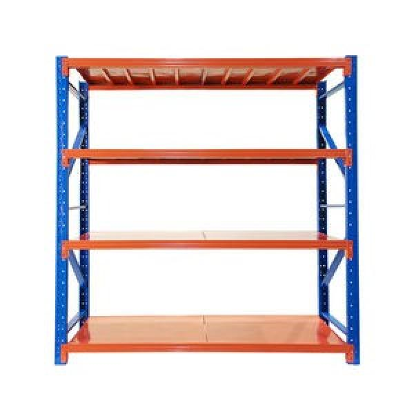 China factory low price high quality used supermarket storage warehouse shelves rack #2 image