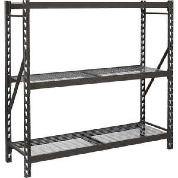 High capacity warehouse storage rack shelving with adjustable layers for storage #2 image
