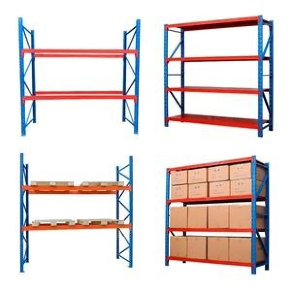 Heavy duty steel fabric roll pallet warehouse racking systems steel pallet industrial racks #2 image