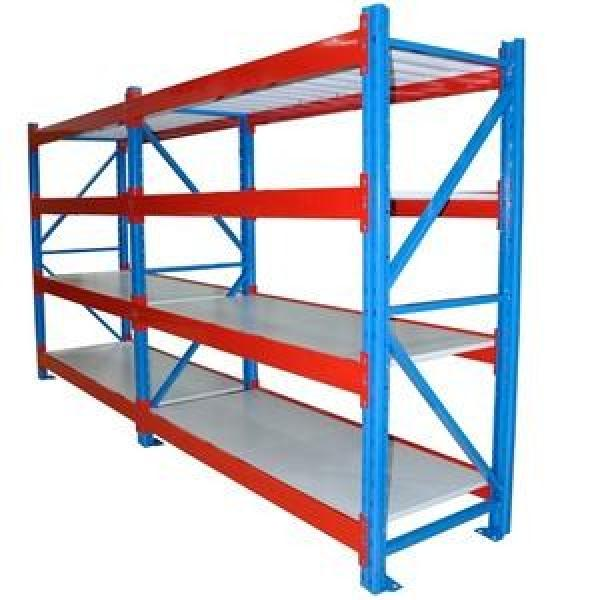 Heavy duty steel fabric roll pallet warehouse racking systems steel pallet industrial racks #1 image