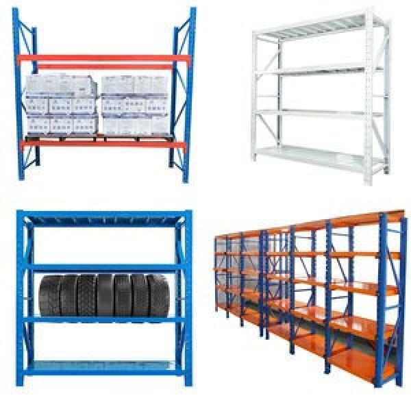 Double or single side convenient warehouse rack Cantilever Storage Shelving System Storage Rack Steel Pipe Storage Rack #2 image