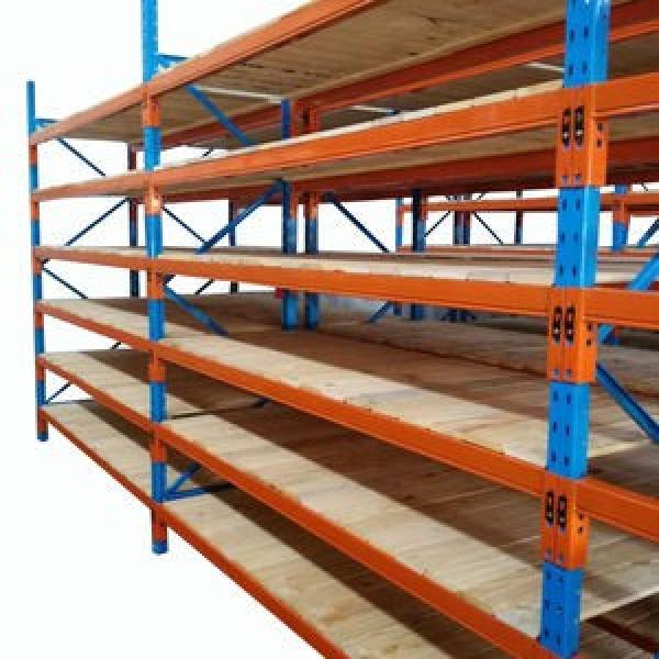 Metal adjustable steel storage rack shelves industrial longspan shelving #3 image