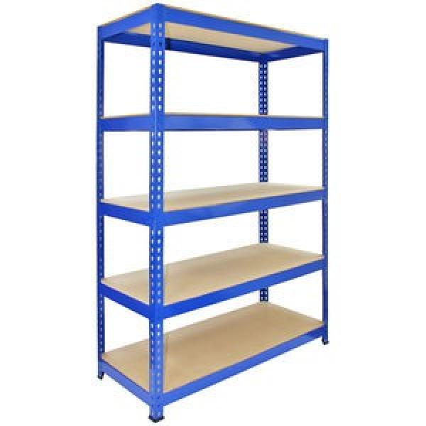durable 5 tier heavy duty metal shelving storage shelving system #2 image