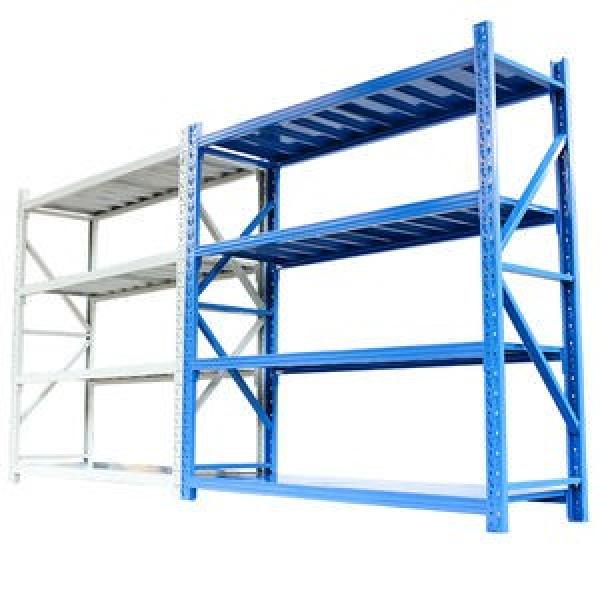 Chinese Supplier Heavy Equipment Used Coated Metal Kitchen Storage Rack 5 Layer Steel Garage Shelving #3 image