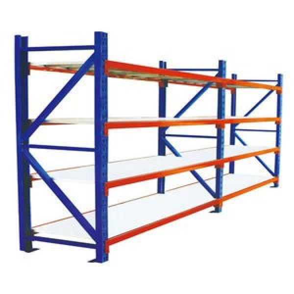 Wire shelves heavy duty steel pipe storage long arms metallic double side cantilever racking #1 image