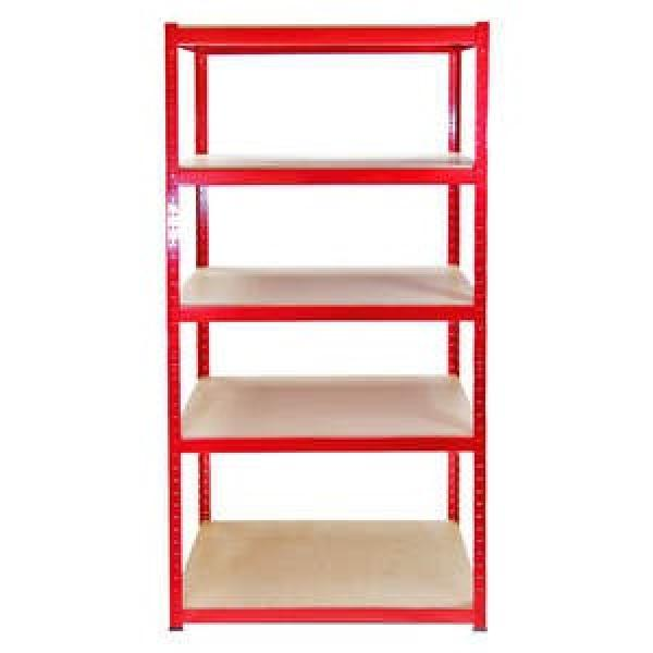 China factory low price high quality used supermarket storage warehouse shelves rack #3 image