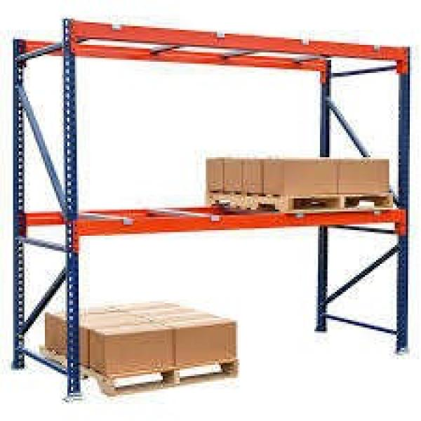 cheap price foldable tire industrial hand operated pallet stacker rack #3 image