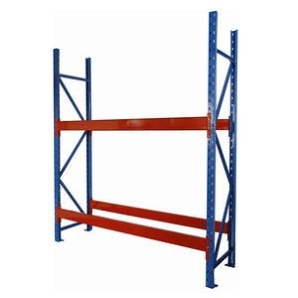 cheap price foldable tire industrial hand operated pallet stacker rack #1 image