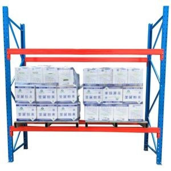 Warehouse storage heavy duty pallet rack US teardrop pallet racking system from China supplier #3 image