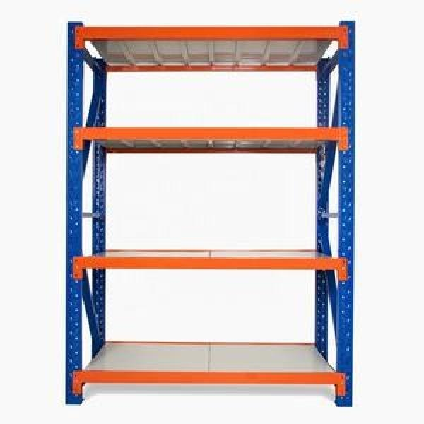 Double or single side convenient warehouse rack Cantilever Storage Shelving System Storage Rack Steel Pipe Storage Rack #1 image