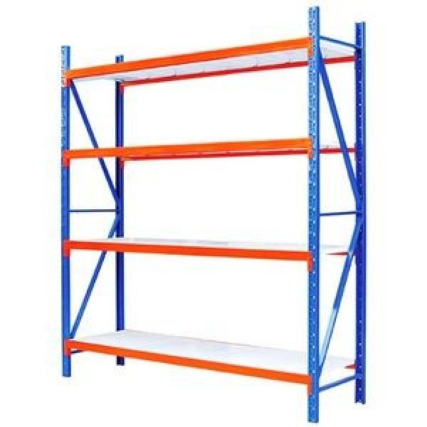 JAS-062 Adjustable shelf Warehouse Metal Overhead Garage Storage Rack Shelving Storage Rack With 4 Levels #3 image