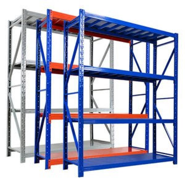 Heavy Duty Warehouse Shelving ISO9001:2008 Certification Passed Painting Storage Rack #3 image